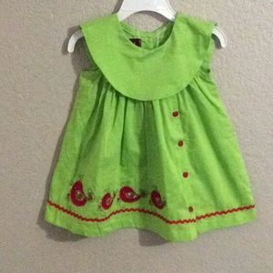 Lil cactus 3-6 mon dress